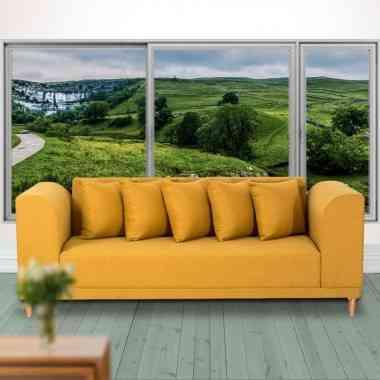 Sofá moderno Terracota